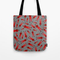 Jackson Thriller Pattern Tote Bag