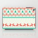 Festive Fair Isle iPad Case