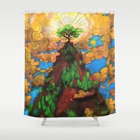 Top of the Rock Shower Curtain