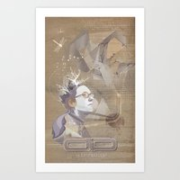 adamned.age artist poster  Art Print