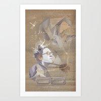 Adamned.age Artist Poste… Art Print