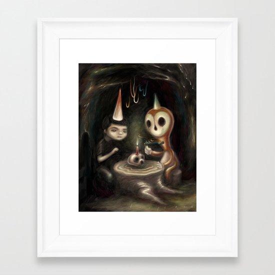 Another Year Closer Framed Art Print