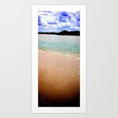 Longing for Beach~Blues Art Print