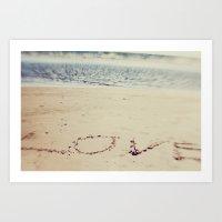 love. Art Print
