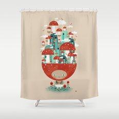 TOADSTOOL TAO Shower Curtain