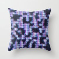 Painted Attenuation 1.3.… Throw Pillow
