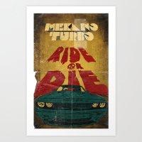 MEKANO TURBO/ride Or Die… Art Print