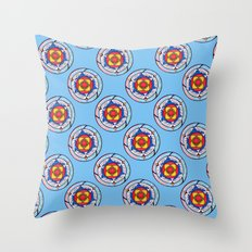 Celtic Wingcircle Throw Pillow