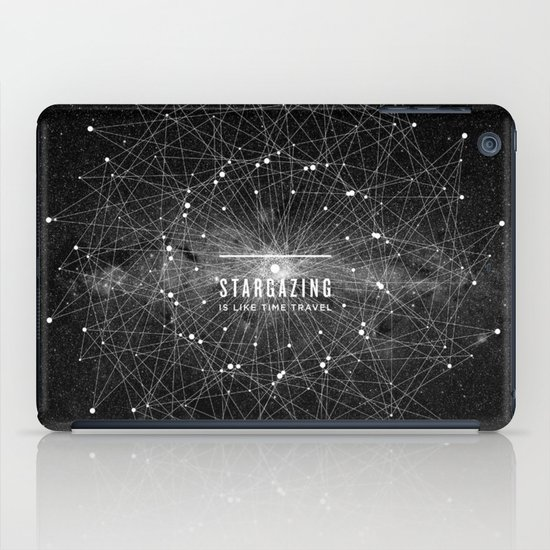 STARGAZING IS LIKE TIME TRAVEL iPad Case