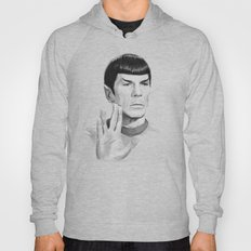 Spock Portrait Star Trek Hoody