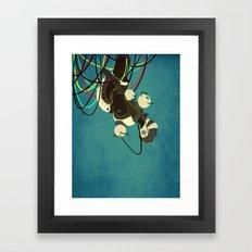 GlaDos Framed Art Print