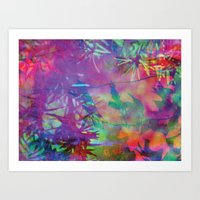 Abstract RGB Art Print