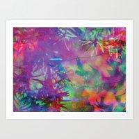 Abstract RGB Art Print