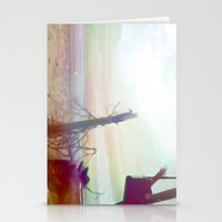 Driftwood Beach Stationery Cards