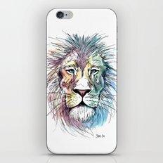 Technicolor Cat iPhone & iPod Skin