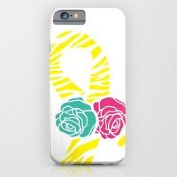 Endometriosis Ribbon 2 iPhone 6 Slim Case