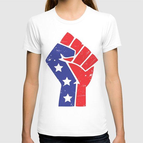 Revoltion Party Fist T-shirt