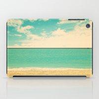Retro Beach iPad Case