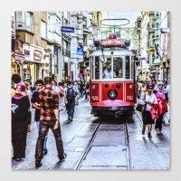 Istanbul Travel Diary 06 Canvas Print