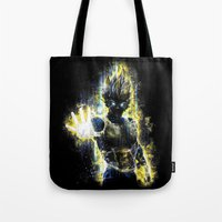 DBZ Inspired Epic Vegeta… Tote Bag
