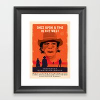 Once Upon A Time In The … Framed Art Print