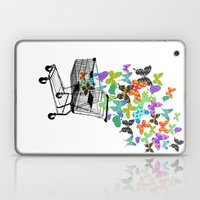 Urban Butterflies Laptop & iPad Skin
