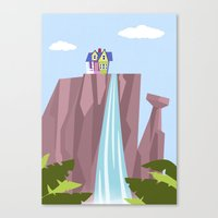 Pixar/Disney Up (Print 1) Canvas Print