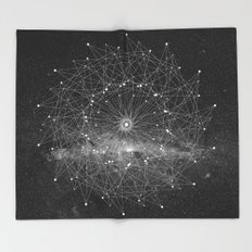 STARGAZING IS LIKE TIME TRAVEL Throw Blanket