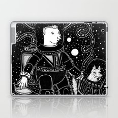 nostalgia espacial Laptop & iPad Skin