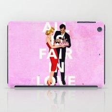 All Is Fair In Love iPad Case