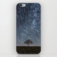 Trailing Stars Above iPhone & iPod Skin