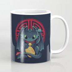 Maneki Dragon Mug