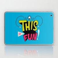 Wow This Looks Like Fun! Laptop & iPad Skin