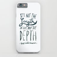 iPhone & iPod Case featuring Depth by Leah Flores