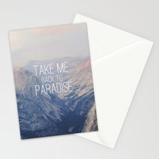 Yosemite Paradise  Stationery Cards