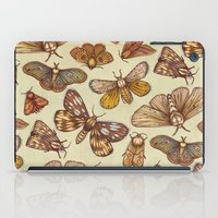 Moth Pattern iPad Case