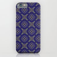 iPhone & iPod Case featuring Royal [abstract pattern B] by Tristan Bowersox McQueen
