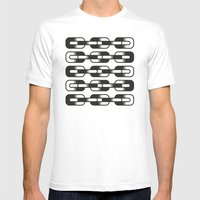 Un-Chain Mens Fitted Tee White SMALL