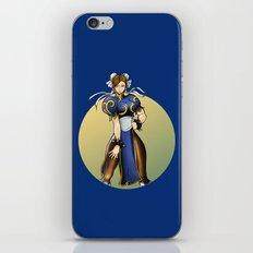 Chun Li iPhone & iPod Skin