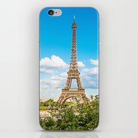 Cloud 9 - Eiffel Tower iPhone & iPod Skin