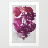 The National- All The Wi… Art Print