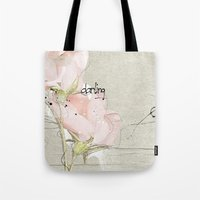 soft magnolia Tote Bag