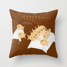 I can't wait to test the cheesecake! Throw Pillow