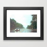 accidental photo Framed Art Print