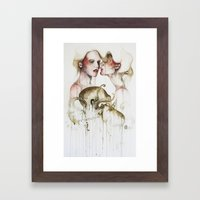Lost girls Framed Art Print