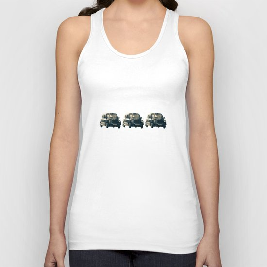 Old street that vanishes Unisex Tank Top