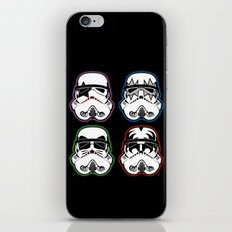 Kiss Troopers iPhone & iPod Skin