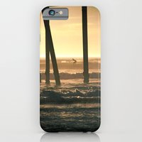 iPhone & iPod Case featuring Surf's Up by Shawn King