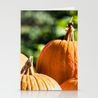 Autumn Vegetable Stationery Cards