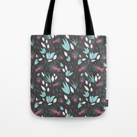 Nighttime Dandelions Tote Bag